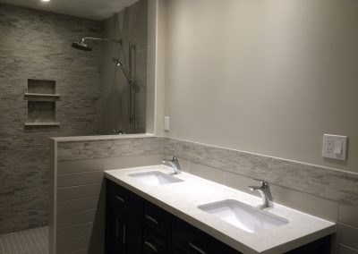 Birute and Lens Bathroom Renovation
